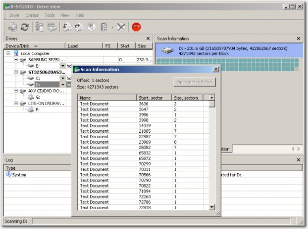 Portable R-Studio Data Recovery 3.6